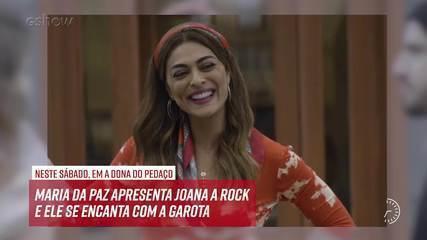 Resumo do dia - 14/09 – Maria da Paz apresenta Joana a Rock e ele se encanta com a garota