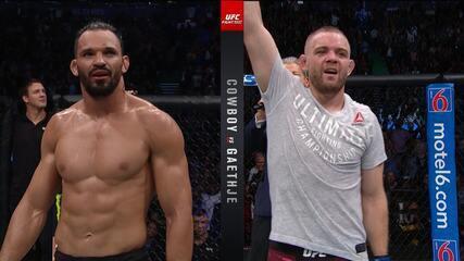 Melhores Momentos de Michel Pereira x Tristan Connelly no UFC Vancouver