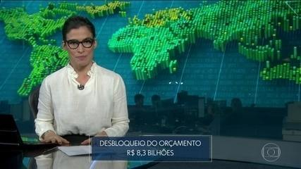 Governo Federal vai desbloquear R$ 8,3 bilhões do orçamento