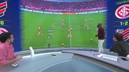 Comentaristas do Troca de Passes analisam o gol do Rony na final da Copa do Brasil