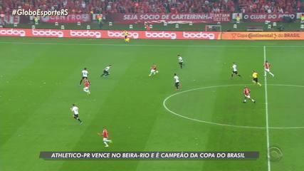 Athletico-PR vence o Inter e é campeão da Copa do Brasil