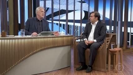 Rodrigo Maia fala sobre rejeição aos pedidos de impeachment de Michel Temer