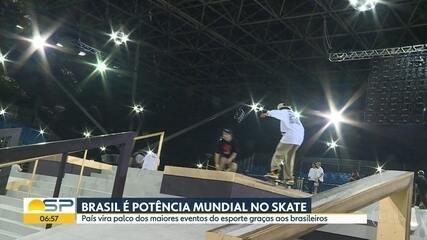 Começa campeonato de street skate em São Paulo