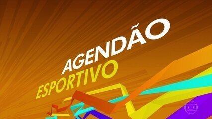 Agendão Esportivo: saiba o que acontece nos esportes olímpicos neste fim de semana