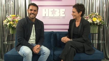 Andréa Beltrão fala sobre preparação, sensação e desafio de viver Hebe Camargo nos cinemas