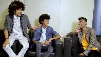 Ramon e Rafael enfrentam Willian Kessley em um quiz super divertido sobre o The Voice