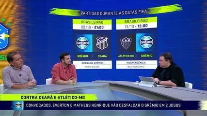 Comentaristas debatem a convocação dos jogadores de Grêmio e Flamengo para a Seleção