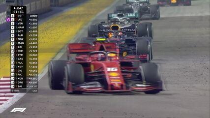 Confira os melhores momentos do GP de Cingapura de Fórmula 1
