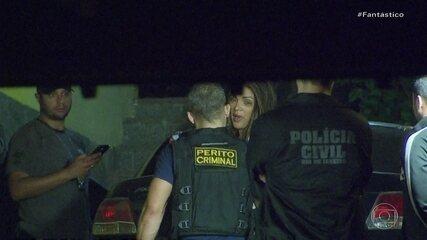 Polícia faz a reconstituição do assassinato do marido da deputada Flordelis