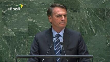 Assista à integra do discurso do presidente Jair Bolsonaro na ONU