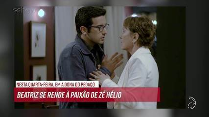 Resumo do dia - 25/09 – Zé Hélio e Beatriz se beijam pela primeira vez