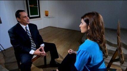 Andréia Sadi entrevista Frederick Wassef, advogado de Flávio Bolsonaro