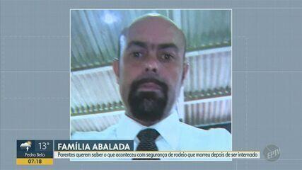 Segurança do rodeio de Jaguariúna morre depois de ficar internado