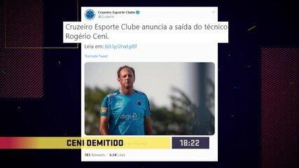 Confira clipe das 24 horas maluca de demissões de treinador na Série A do Campeonato Brasileiro