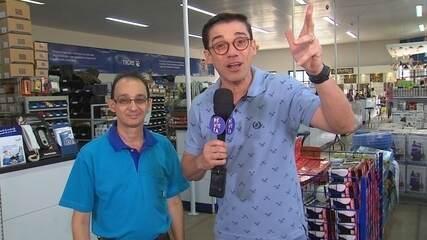 Marcos Paiva visita A Tudo D'Água, que também é 'tudo elétrica' em Rio Preto