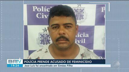 Suspeito de matar mulher em Serrinha é preso