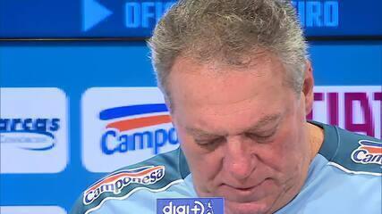 Abel Braga fala sobre o retorno ao Cruzeiro, agora como treinador do time