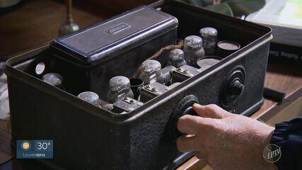 EPTV 40 anos: colecionador de rádios revela paixão pela comunicação