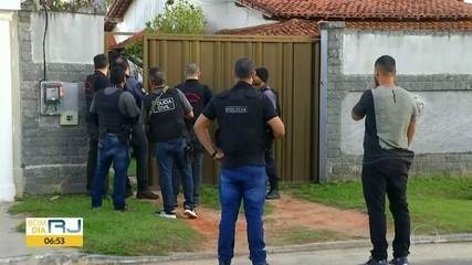 Polícia e MP fazem operação contra suspeitos de integrar milícia em Araruama