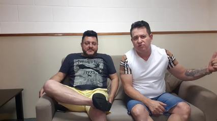 Bruno e Marrone falam do convite do dueto com Michel Teló no The voice Brasil