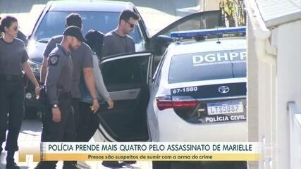 Polícia prende mulher e cunhado de ex-PM suspeito de matar Marielle e Anderson