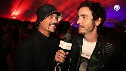 Famosos admiram disposição de Anthony Kiedis, vocalista do Red Hot Chili Peppers
