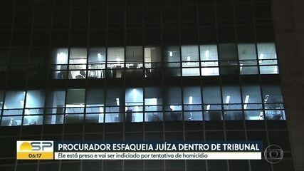 Procurador da Fazenda esfaqueia juíza na sede do TRF 3ª Região, na Avenida Paulista