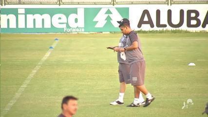 Confira como foi o primeiro treino do Ceará comandado por Adílson Batista