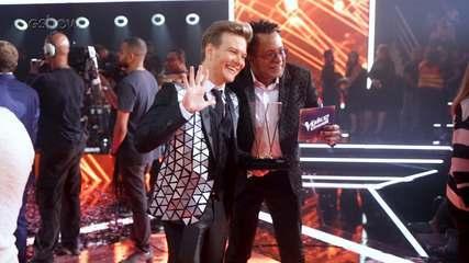 Confira os bastidores na final do The Voice Brasil