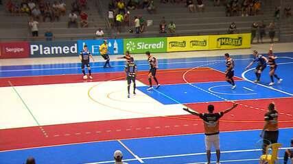 Pinhão e Itaporanga ficam no empate em 1 a 1 pelo confronto de ida das quartas de final