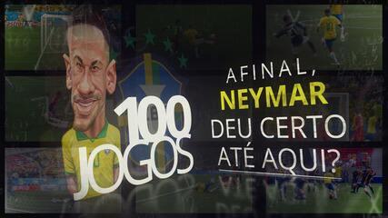 Neymar na seleção brasileira deu certo até aqui?