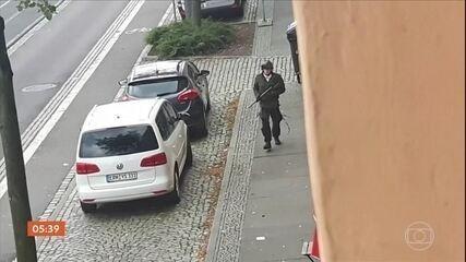 Alemanha trata atentados a tiros em Halle como ataque antissemita