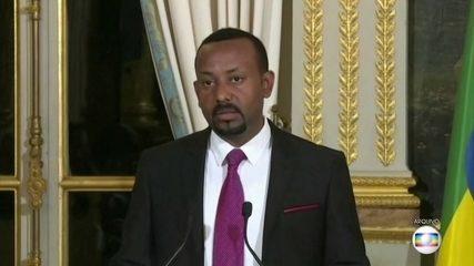 Primeiro-ministro da Etiópia vence o Nobel da Paz