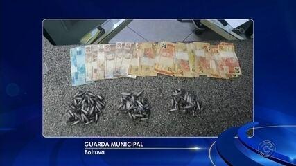 Homem é preso por tráfico de drogas no Parque Novo Mundo em Boituva