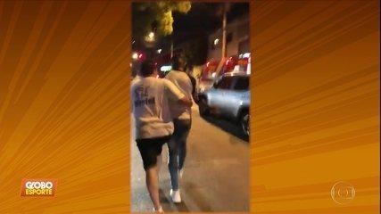 Ralf, do Corinthians, se envolve em acidente de carro na noite de sexta-feira