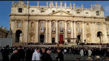 Margareth Menezes e Waldonys cantam na canonização de Irmã Dulce no Vaticano