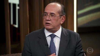 Gilmar Mendes fala sobre vazamento de informações