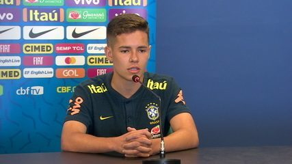 Substituto de Reinier, Pedro Lucas diz que é fã de Cristiano Ronaldo e conta sobre teste no Real Madrid