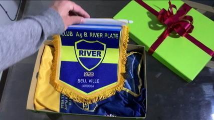 Rivais históricos, Boca Juniors e River Plate se misturam em cidade da Argentina