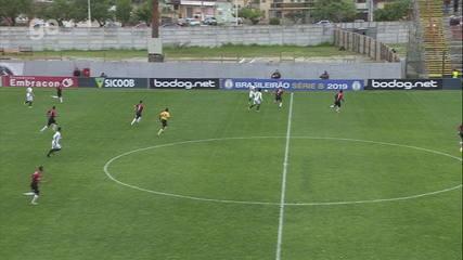 Melhores momentos: Brasil-RS 0x0 Sport pela 30ª rodada do Campeonato Brasileiro Série B