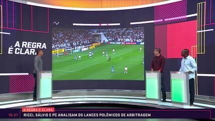 A Regra é Clara: Ricci, Sálvio e PC falam sobre as polêmicas da rodada do Campeonato Brasileiro