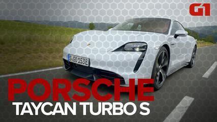 Primeiro elétrico da Porsche é um sedã de 4 portas que acelera como uma Ferrari; G1 andou