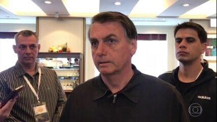 No Japão, Bolsonaro comenta sobre caso PSL