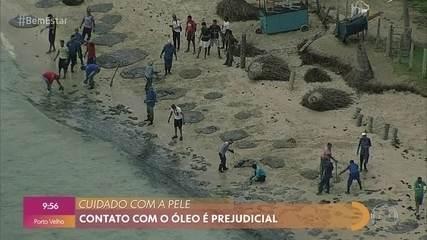 Como o óleo em praias do Nordeste pode afetar a saúde