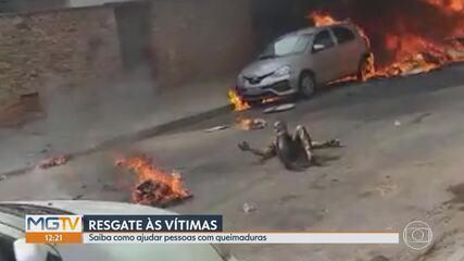 Novo vídeo mostra desespero de pessoas para salvar vítimas da queda do avião em BH
