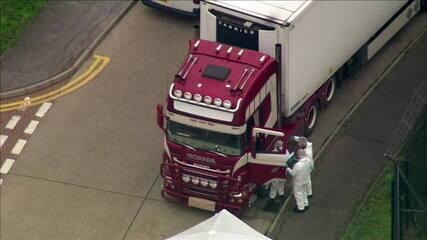 Imprensa britânica diz que os 39 corpos encontrados em caminhão são de imigrantes chineses