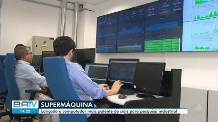 Computador mais potente do país para pesquisa industrial é lançado em Salvador