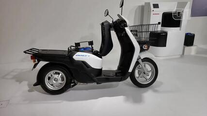 Scooters elétricos são aposta no Salão de Tóquio