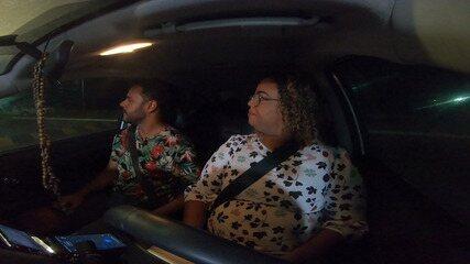Pablo conhece uma motorista de aplicativo que criou um grupo para ajudar outras mulheres