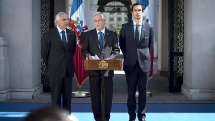 Presidente do Chile anuncia suspensão do estado de emergência